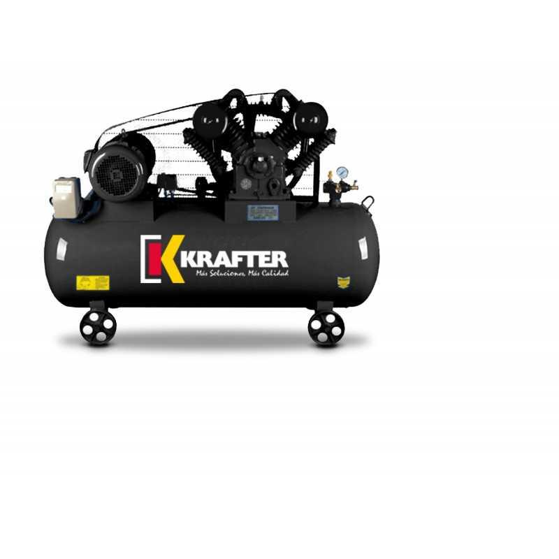 Compresor de aire 10 HP - ACK 300 Lts 380V Krafter 4449000030010