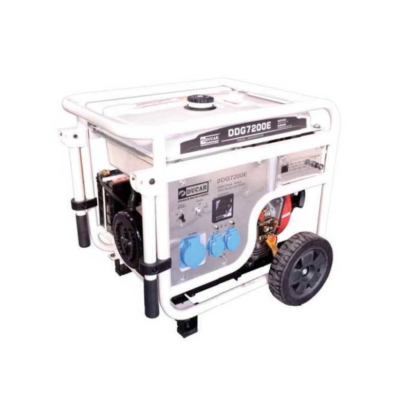 Generador Eléctrico Diesel 6.0Kw Ducar DDG7200E