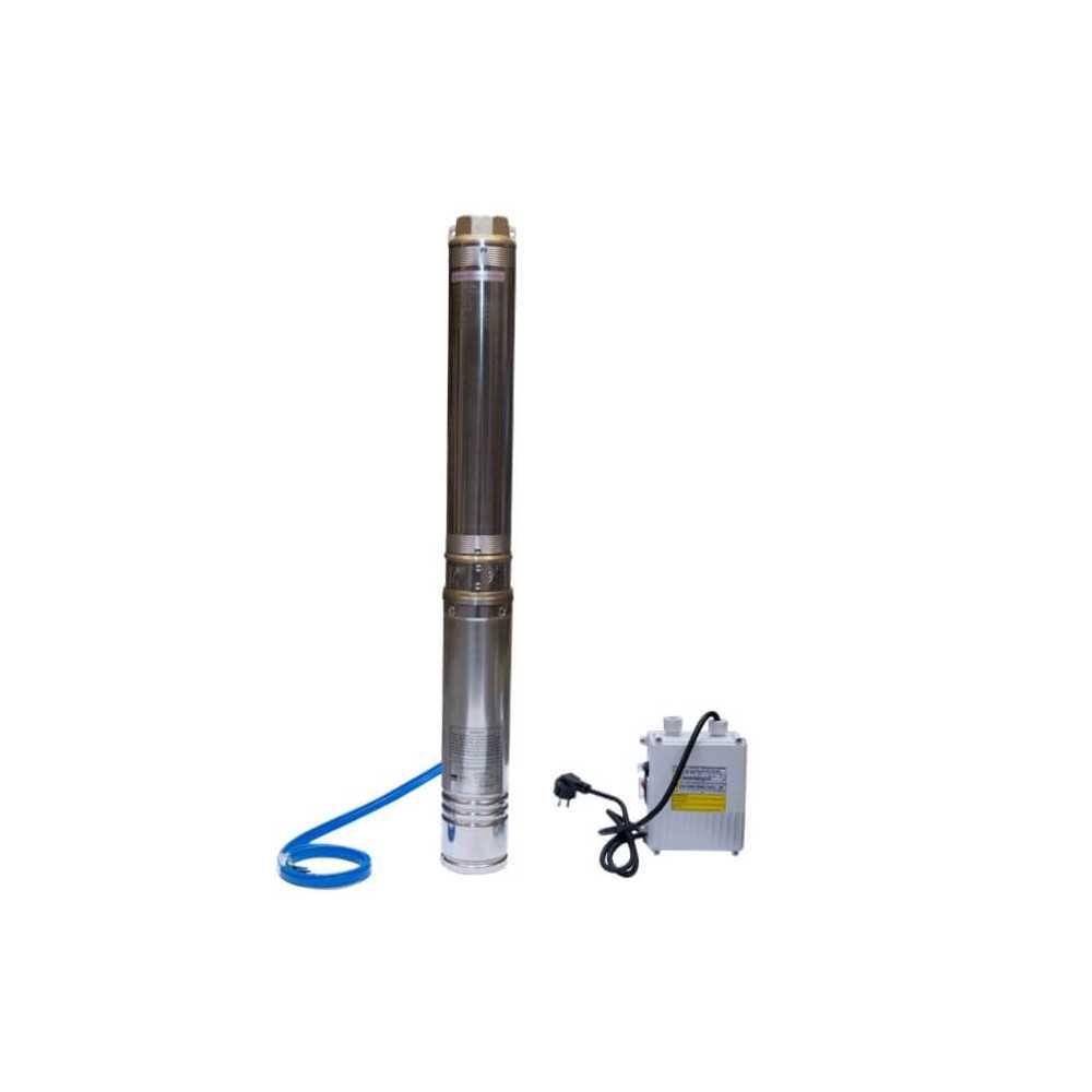 "Bomba de Agua Pozo profundo 4"" 1.5 HP/ Para agua limpia con pequeñas impuresas Hyundai 82HY4M4-12M"