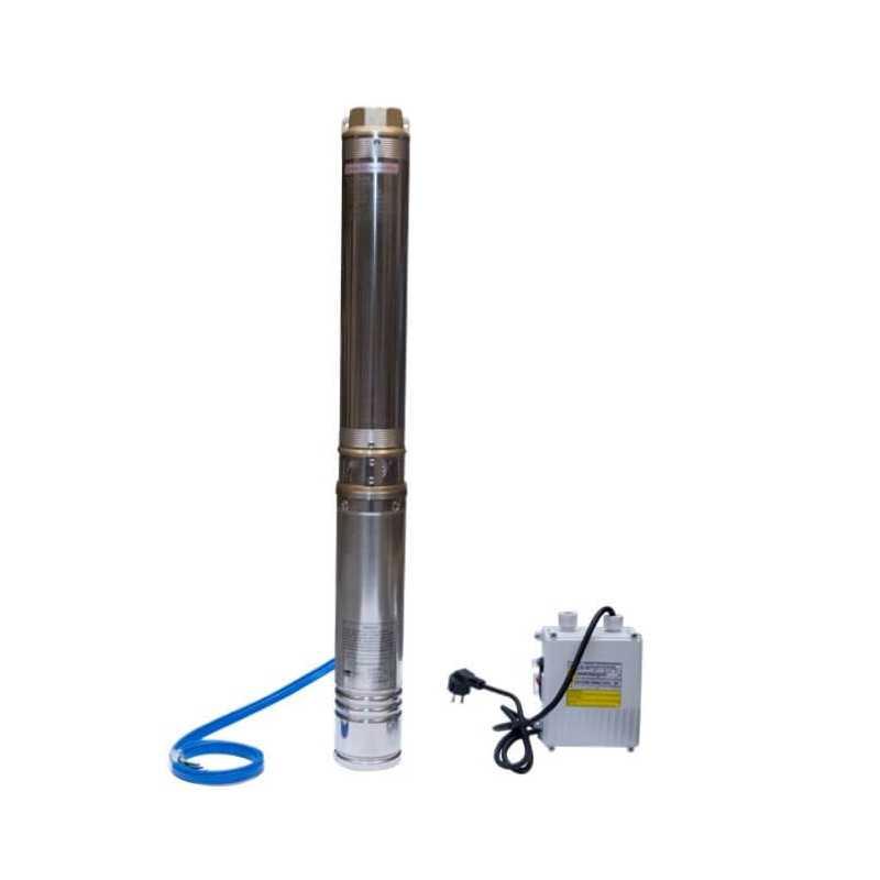 "Bomba de Agua Pozo profundo 4"" 2 HP/ Para agua limpia con pequeñas impurezas Hyundai 82HY4M8-10M"