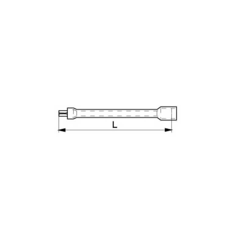 """Barra Extensión Aislada 1/2"""" 1000 V Bahco 8160-1/2V"""
