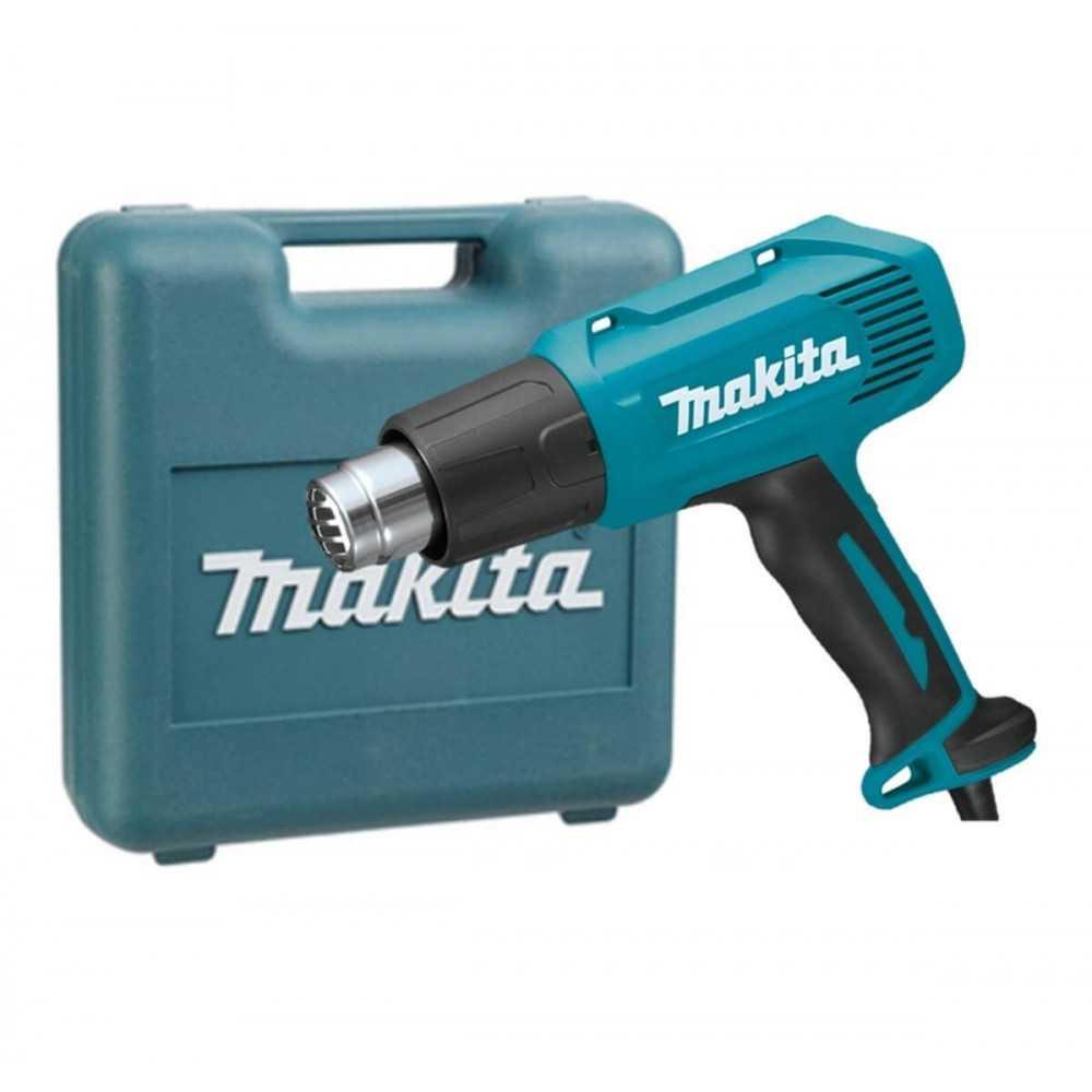 Pistola de Calor + Maleta Plástica Makita HG5030K