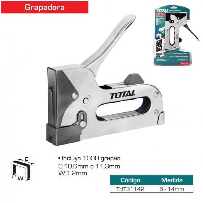 Engrapadora Industrial 6-14mm Total Tools THT31142