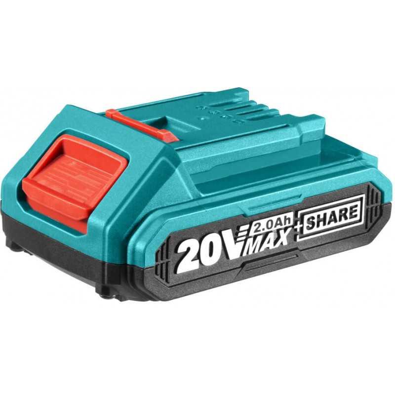 Batería de litio-ion de 20V / 2.0AH Total Tools TFBLI2001