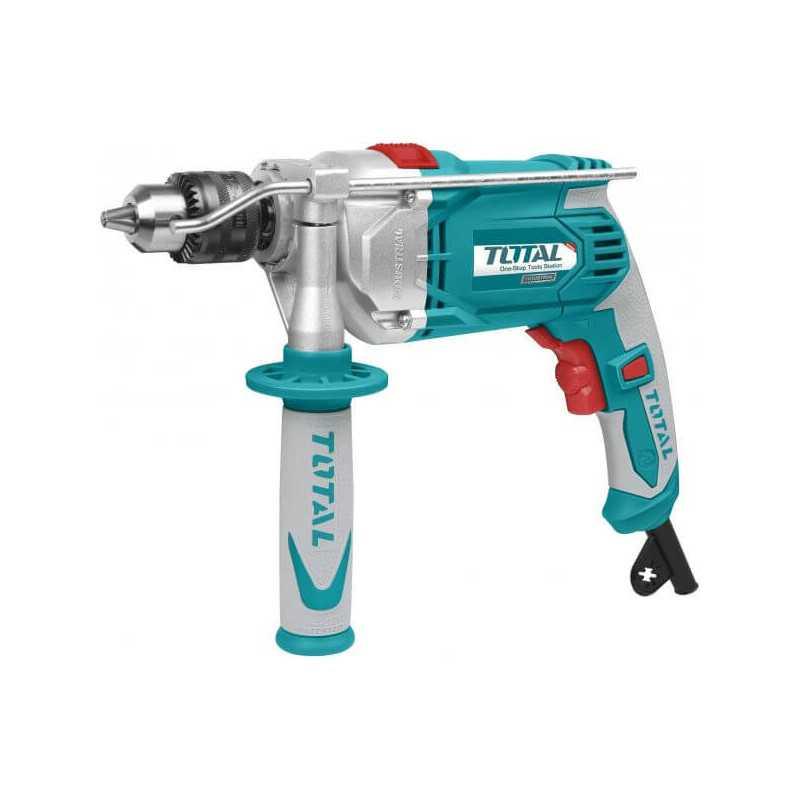 Taladro Percutor 13mm 1010W Total Tools TG111136