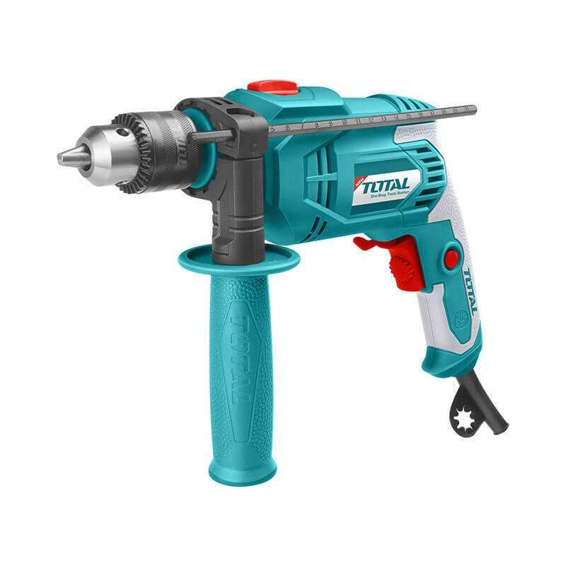 Taladro Percutor 13mm 750W Total Tools TG108136